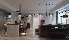 110平米三現代簡約風格餐廳圖