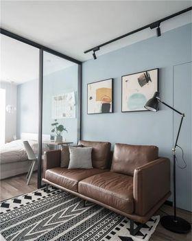 60平米現代簡約風格客廳效果圖
