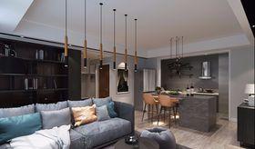 110平米三現代簡約風格客廳圖