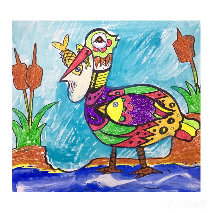 幼儿才艺 儿童美术 飞鸟创艺少儿美术书法(浦东中心)  课程类型: 绘画