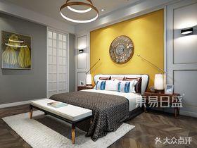 140平米別墅美式風格臥室欣賞圖