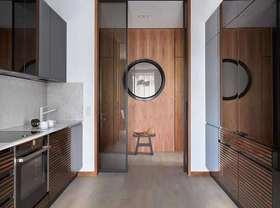 10-15萬70平米現代簡約風格廚房裝修效果圖