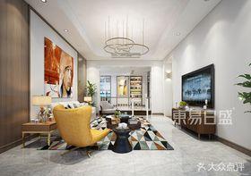 140平米別墅美式風格客廳圖片