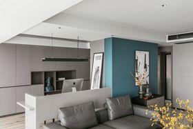 120平米三室一廳現代簡約風格其他區域裝修圖片大全