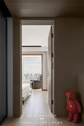富裕型120平米三現代簡約風格臥室裝修案例
