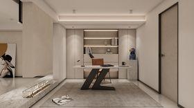 140平米別墅現代簡約風格書房裝修圖片大全