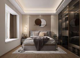 富裕型90平米三現代簡約風格青少年房裝修圖片大全