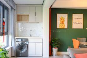 140平米三室兩廳現代簡約風格陽臺設計圖