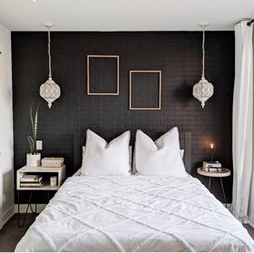5-10萬40平米小戶型現代簡約風格臥室裝修效果圖