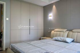 140平米三室兩廳現代簡約風格臥室裝修效果圖