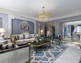 130平米三室一廳現代簡約風格客廳裝修案例