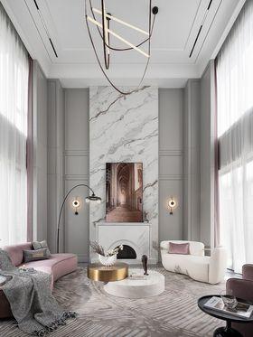 140平米別墅美式風格客廳效果圖