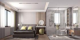 10-15萬90平米三現代簡約風格臥室裝修效果圖