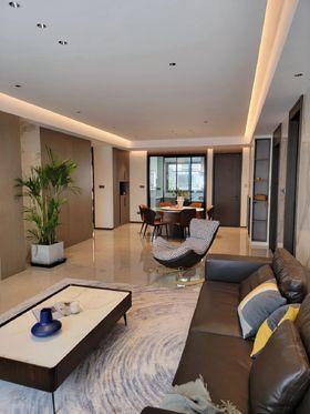 140平米三室兩廳現代簡約風格客廳效果圖