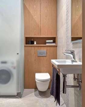 富裕型70平米現代簡約風格衛生間欣賞圖