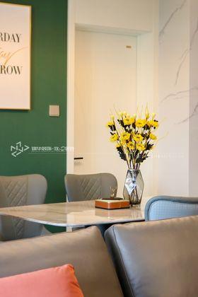 140平米三室兩廳現代簡約風格餐廳裝修圖片大全