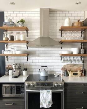 經濟型40平米小戶型現代簡約風格廚房裝修效果圖