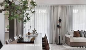 140平米三室兩廳現代簡約風格其他區域裝修效果圖