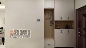經濟型90平米三室兩廳現代簡約風格玄關圖片大全