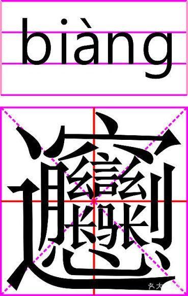 中国笔画最多的字,你知道吗