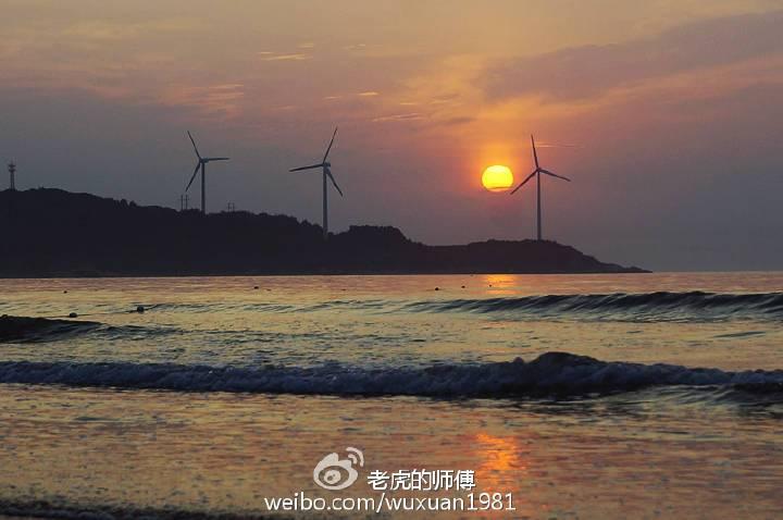 夏天陪你去看海 漳州六鳌翡翠湾