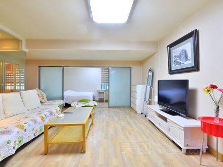 建国门外地铁温馨公寓三居整租预订/团购