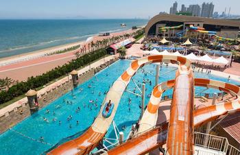 【青岛出发】37度梦幻海水乐园纯玩1日跟团游*夏日精彩 水上项目-美团
