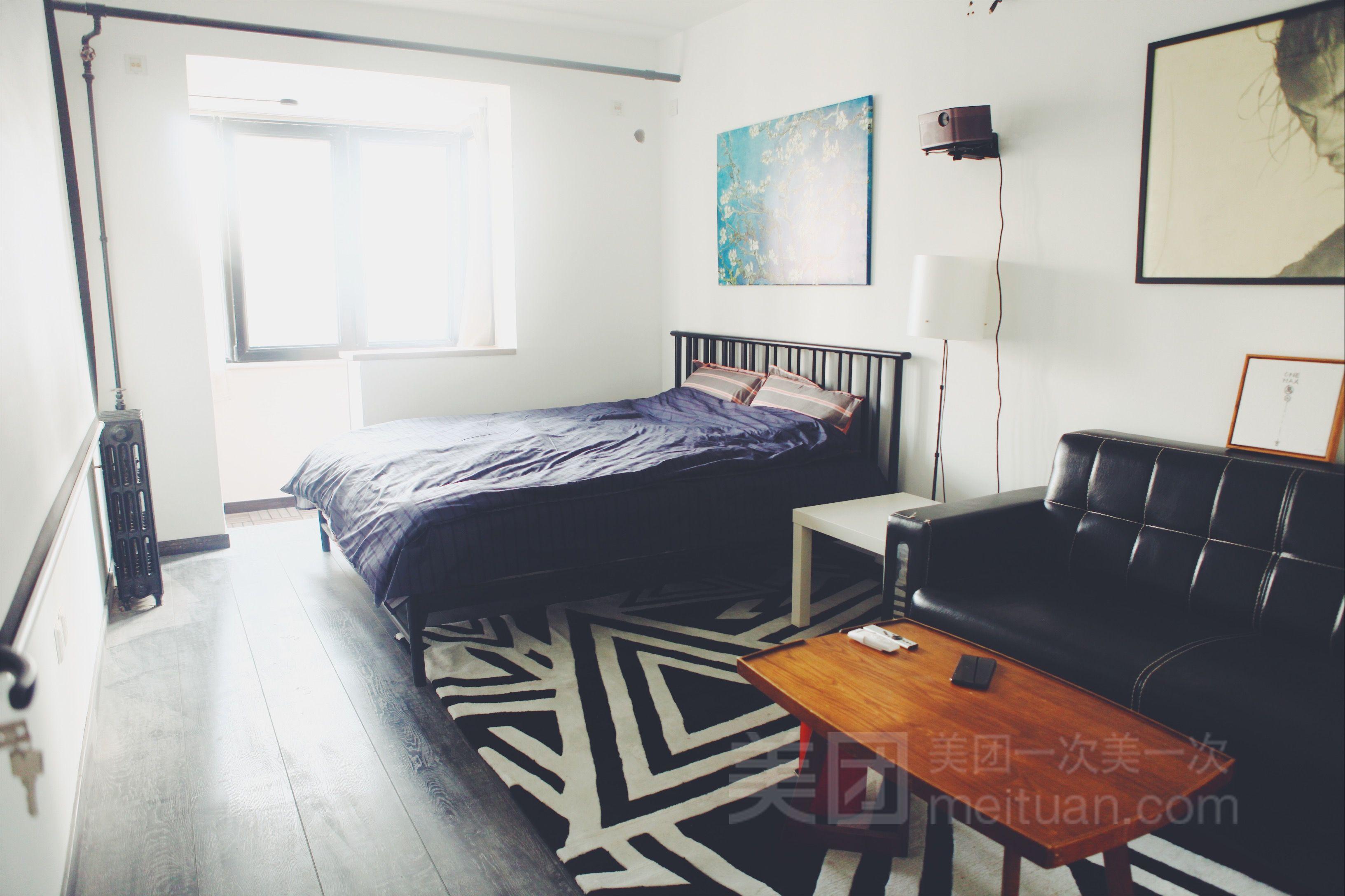 阳光现代美式两居室预订/团购