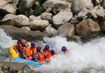 【南阳出发】尧山天河漂流纯玩1日跟团游*神秘暗河 送天河瀑布-美团