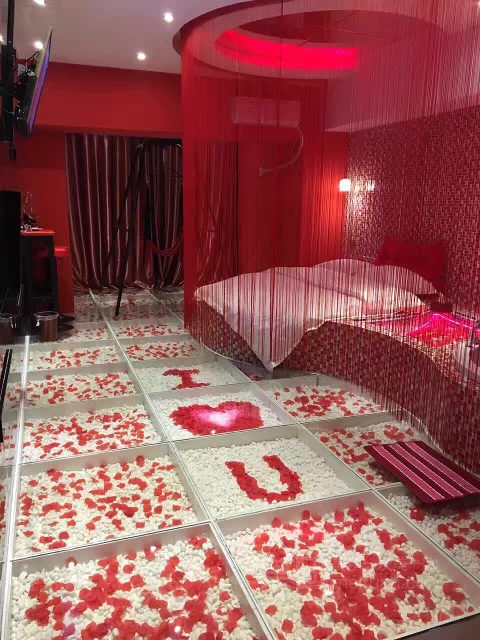 蜜爱情侣主题公寓-美团