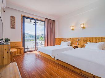 惠东 双月湾 近海 私家花园 露台园野榻榻米双床房
