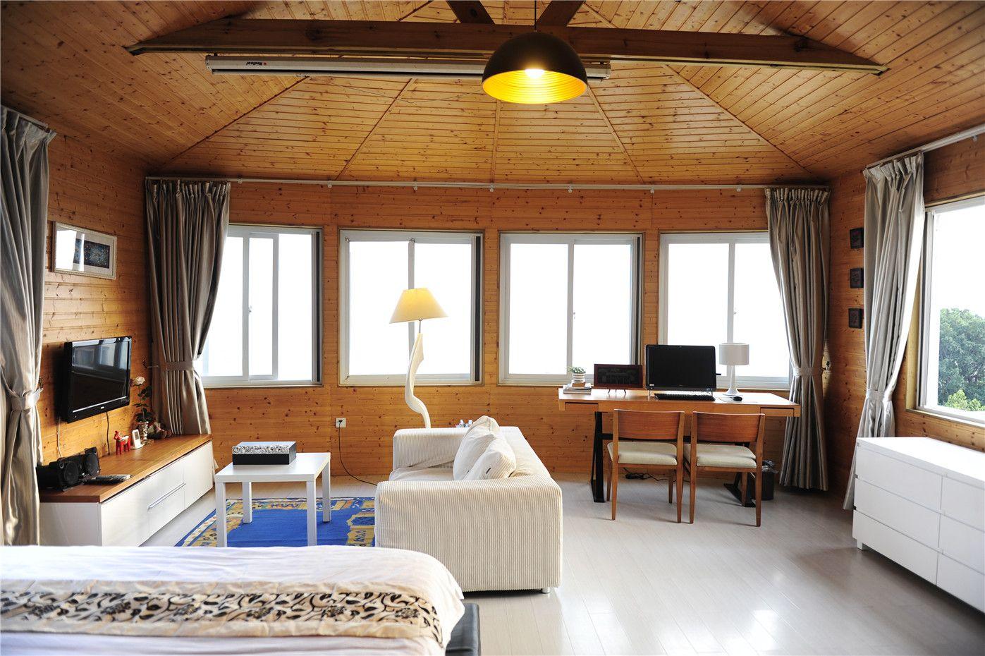 别墅看日出的别墅房-独栋床上顶层东城海景三乡图片