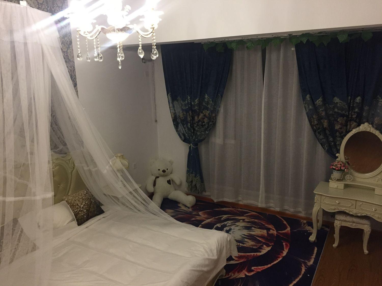 田森汇阿兰朵主题公寓,欧雅情居(大床房)