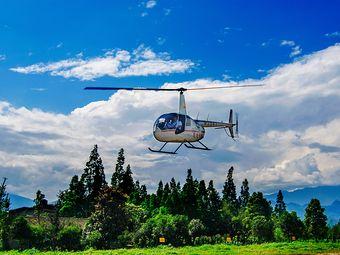 驼峰直升机空中游览