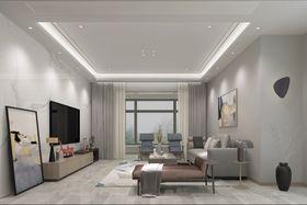 140平米三null风格客厅装修效果图