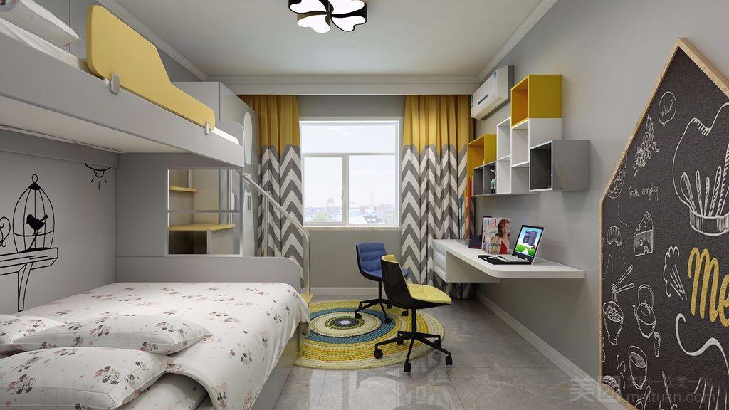 100平米null风格儿童房装修效果图