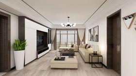 130平米三null风格客厅装修效果图
