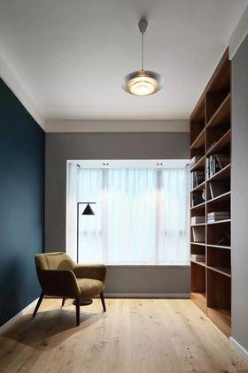 140平米四null风格书房设计图