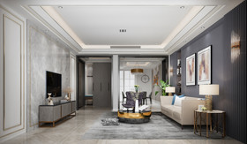140平米四null风格客厅图片