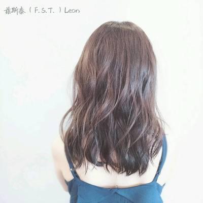 丽人 美发图库 造型烫作品图  393 创意烫发 中发 女