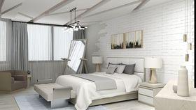 130平米null风格卧室装修图片大全