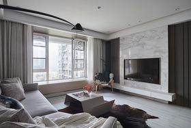 140平米四null风格客厅设计图