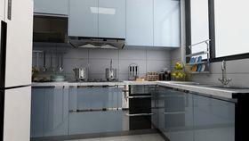 120平米三null风格厨房装修图片大全