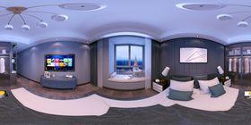 140平米三null风格卧室装修效果图