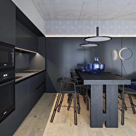 100平米null风格厨房装修案例