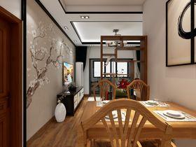 80平米三null风格餐厅图
