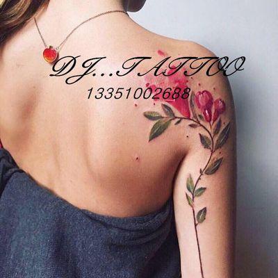韩式小碎花纹身