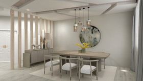 130平米null风格餐厅装修案例