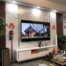 110平米三null风格客厅装修案例
