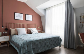 120平米三null风格卧室装修案例